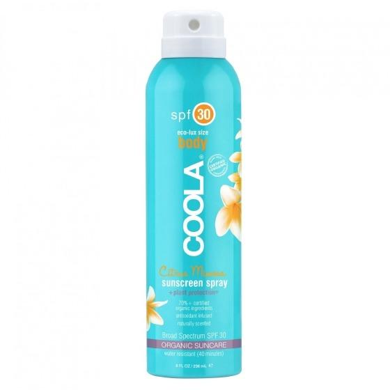 Coola Sunscreen Body Spray SPF 30 Citrus Mimosa