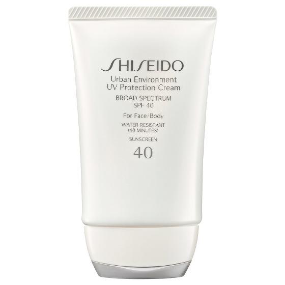 Shiseido Urban Environment UV Protection Cream Broad Spectrum SPF 40 For Face:Body