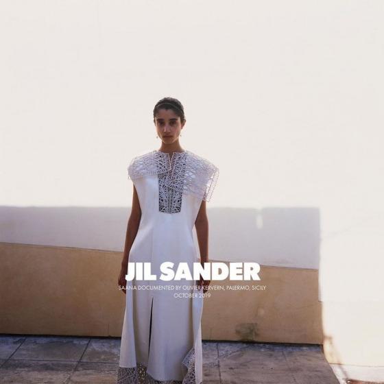 Jil Sander 2020 İlkbahar/Yaz Kampanyasının Yüzü