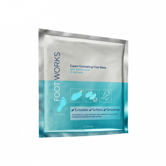 Avon Foot Works Expert Exfoliating Foot Mask