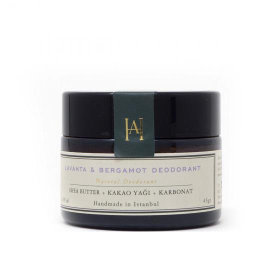 Homemade Aromaterapi Lavanta & Bergamot Doğal Deodorant