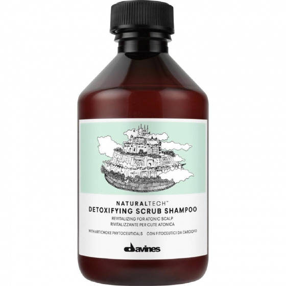 Davines Detoxifying Scrub Şampuan