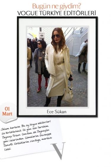 Vogue Türkiye Editorleri - Mart 2011