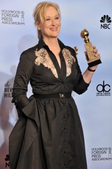 Golden Globe Kraliçesi Meryl Streep