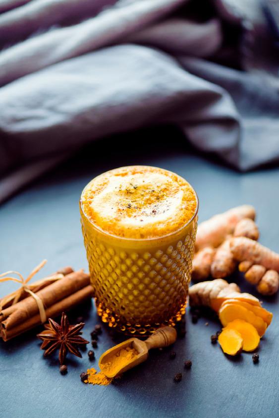 Daha Fazla Antioksidan İçin; Altın Süt