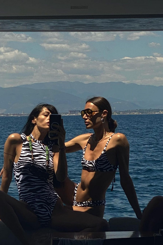 Gilda Ambrosio ve Giorgia Tordini - The Attico