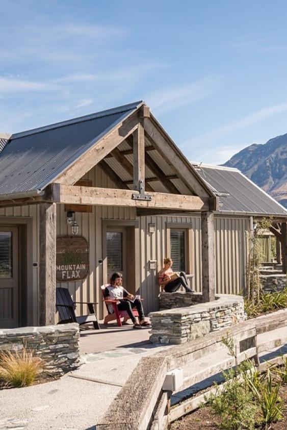 Camp Glenorchy (Yeni Zelanda)