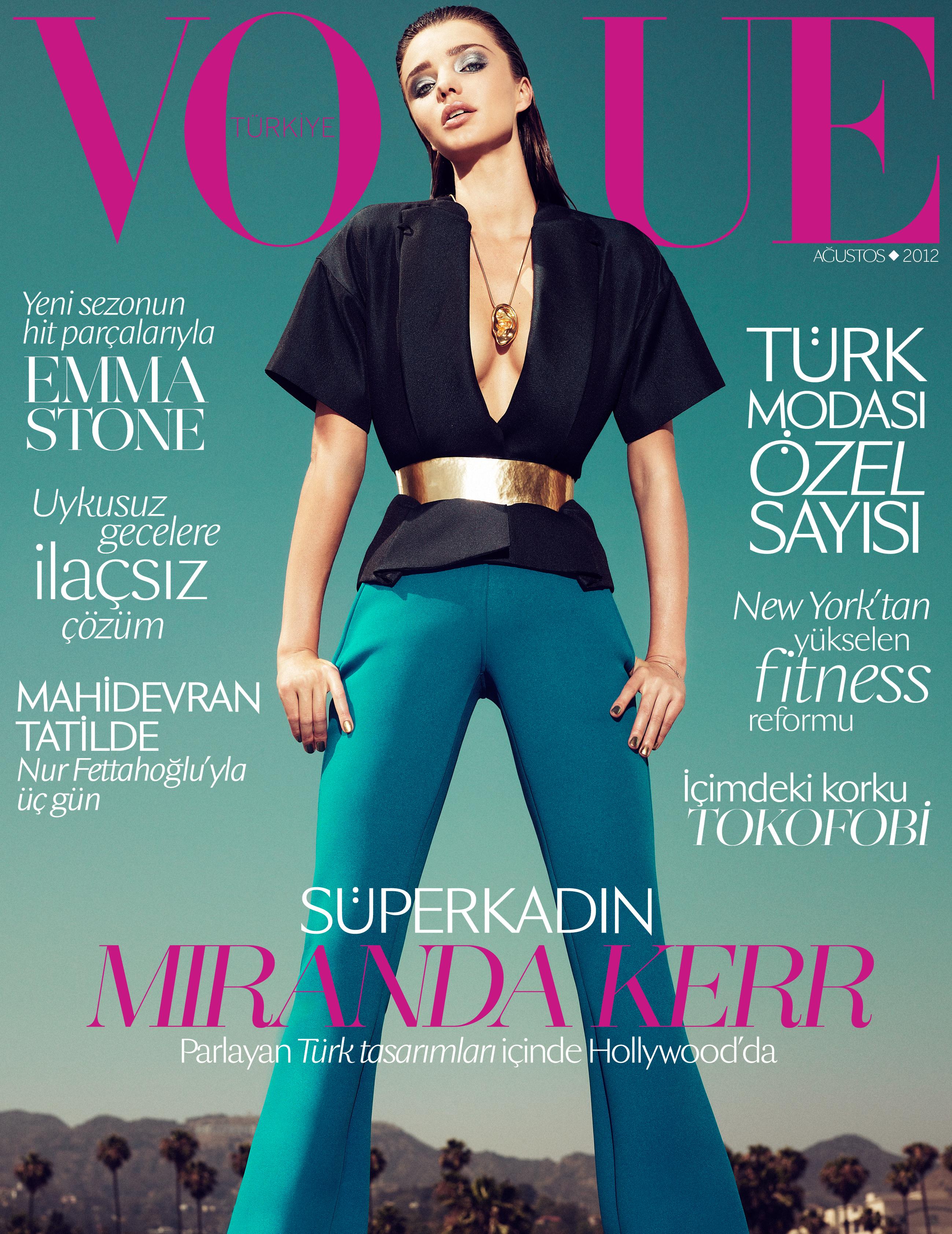 Süperkadın Miranda Kerr