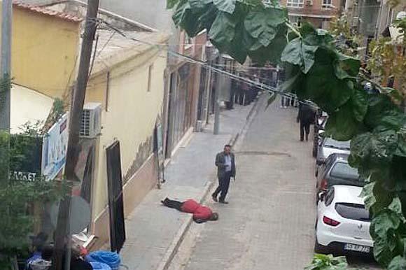 Manisa'da sokak ortasında dehşet