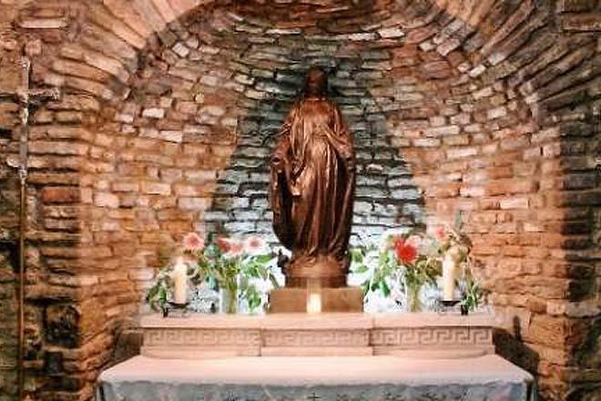 Meryem Ana Mezari Meryem Ana'nın Mezarı