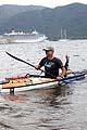Anzak ayini için kanoyla yolculuk