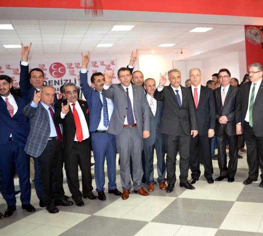 MHP Denizli aday adaylarını tanıttı