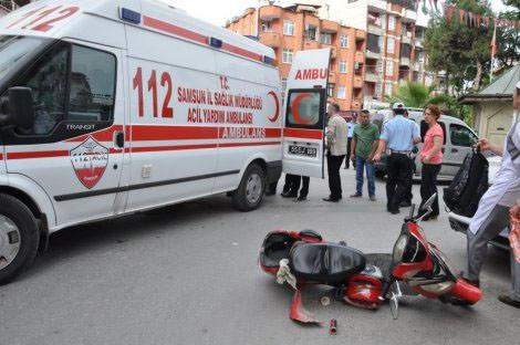 Elektrikli bisikletten düşen yaşlı adam öldü