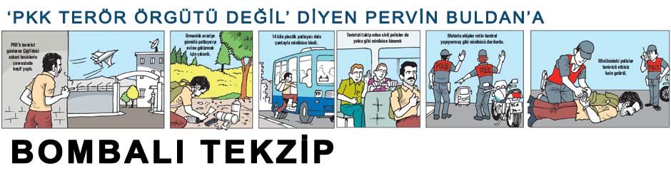 PKK'lı teröristten HDP'li Buldan'a bombalı tekzip