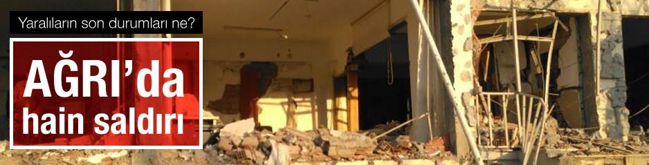 2 ton bomba ile karakola intihar saldırısı: 2 şehit, 24 yaralı